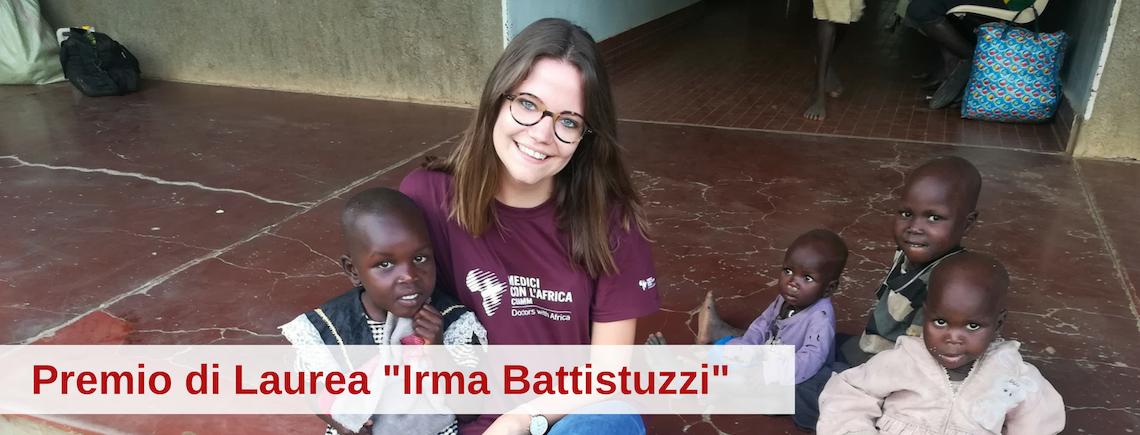 """2° Premio di Laurea """"Irma Battistuzzi"""""""