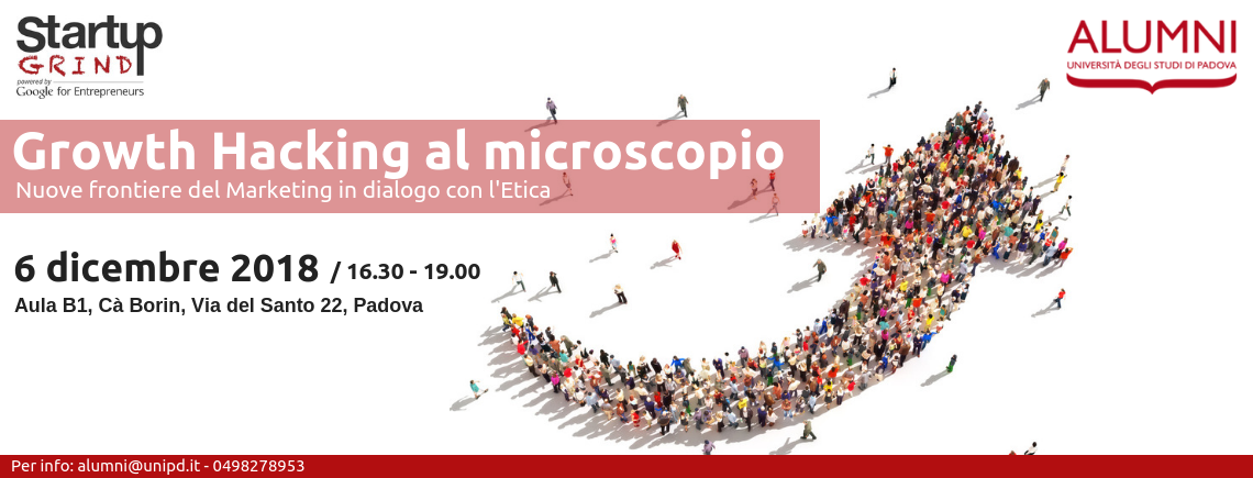 """Growth Hacking al microscopio"": nuove frontiere del Marketing in dialogo con l'Etica"