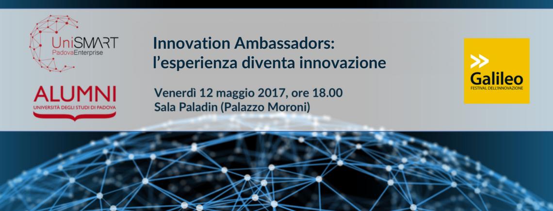 Innovation Ambassadors: l'esperienza diventa innovazione