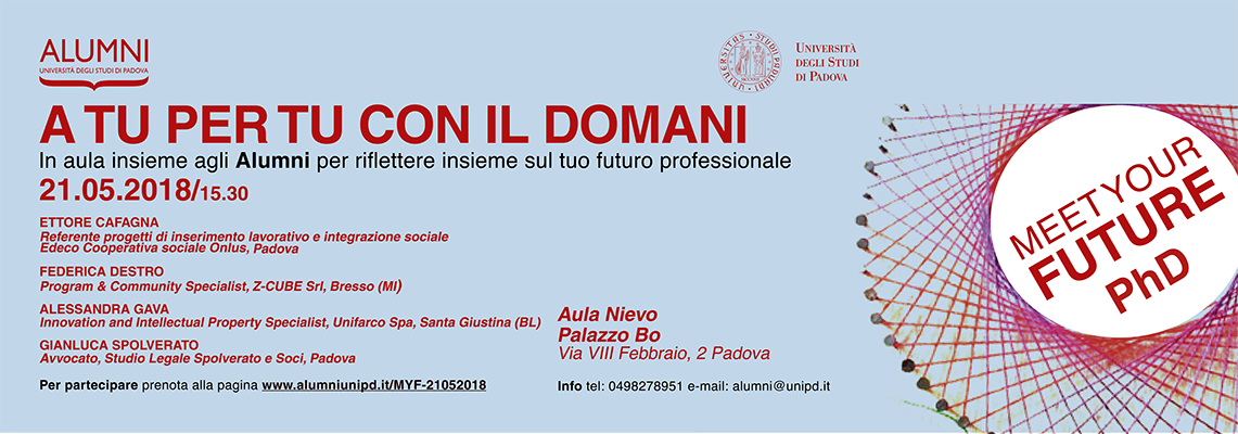 3° Meet Your Future PhD | Percorsi ad alta intensità
