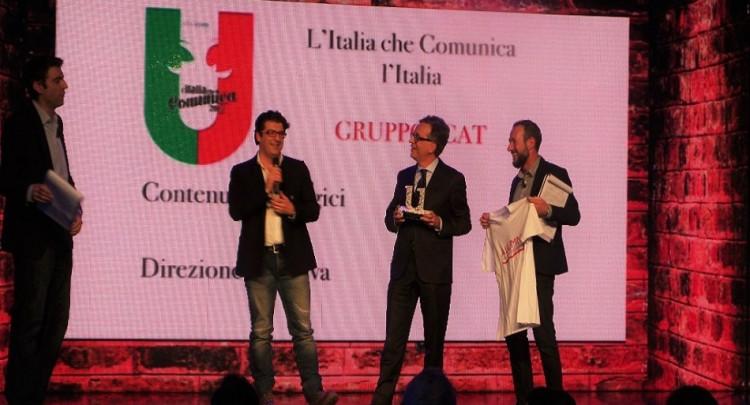 """L'Associazione Alumni dell'Università degli Studi di Padova e Gruppo icat vincono il premio """"L'Italia che comunica l'Italia"""""""