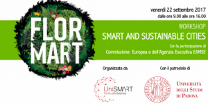 Smart and Sustainable Cities Unismart evento