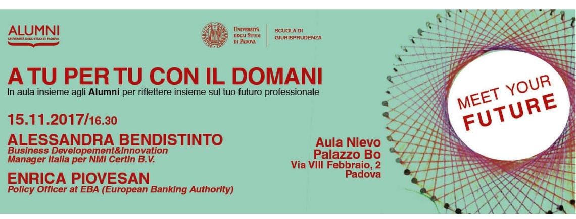 Meet Your Future   A tu per Tu con Alessandra Bendistinto ed Enrica Piovesan