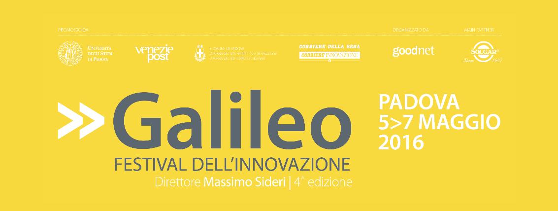 Alumni Università di Padova partecipa  al Galileo Festival dell'Innovazione  4^ edizione