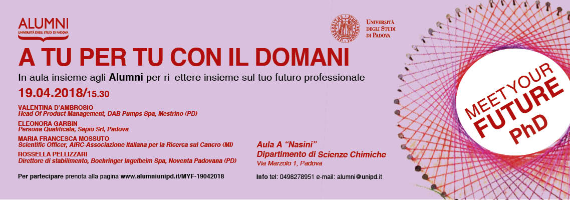 2° incontro Meet Your Future PhD | Percorsi ad alta intensità