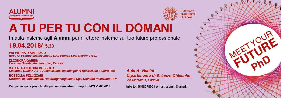 2° incontro Meet Your Future PhD | Percorsi ad alta intensità