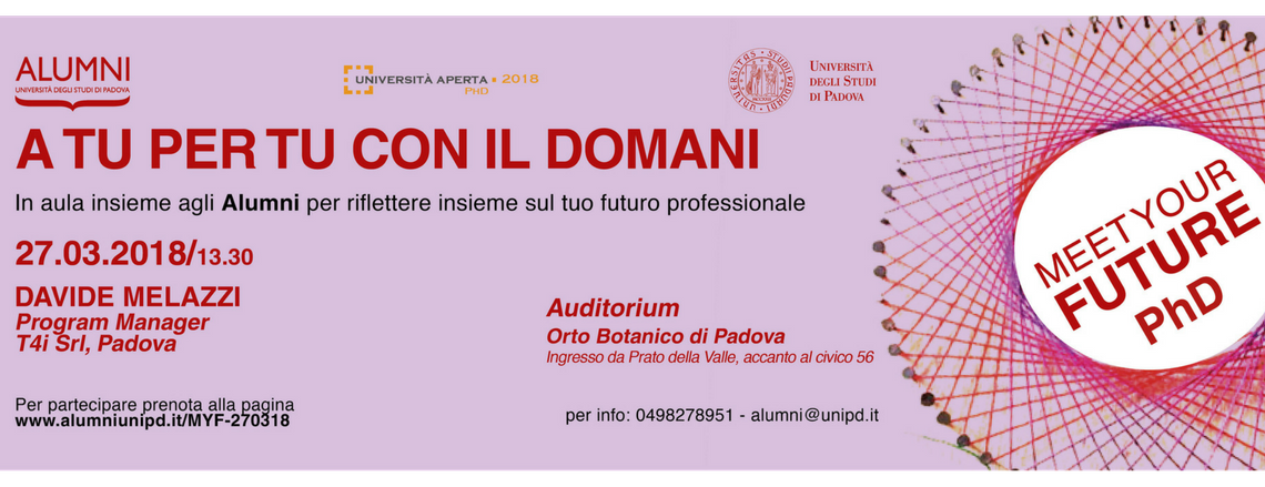 Meet Your Future PhD | Percorsi ad alta intensità