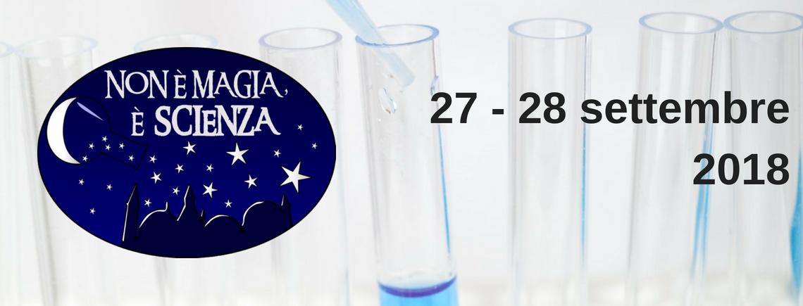 NEMES 2018: incontri e laboratori aperti a tutti per scoprire il mondo delle Scienze