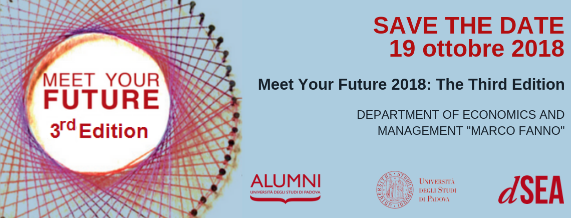 Meet Your Future 2018: the Third Edition | SAVE THE DATE
