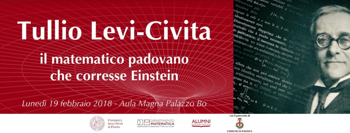 Tullio Levi-Civita: il matematico padovano che corresse Einstein