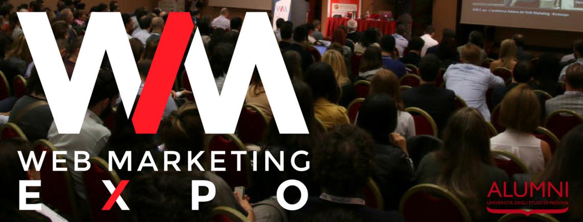 WM EXPO 2017:  LE ECCELLENZE DEL WEB MARKETING ITALIANO A PADOVA