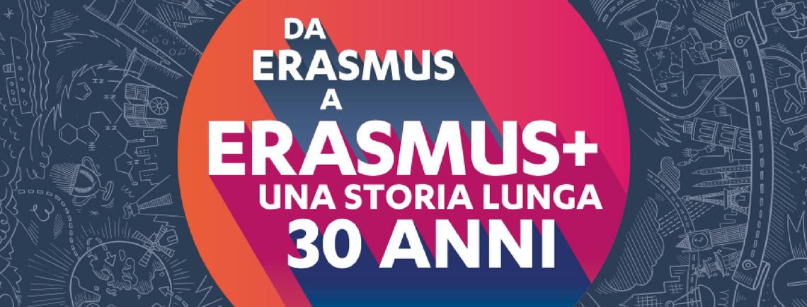 Da Erasmus a Erasmus+. Una storia lunga 30 anni