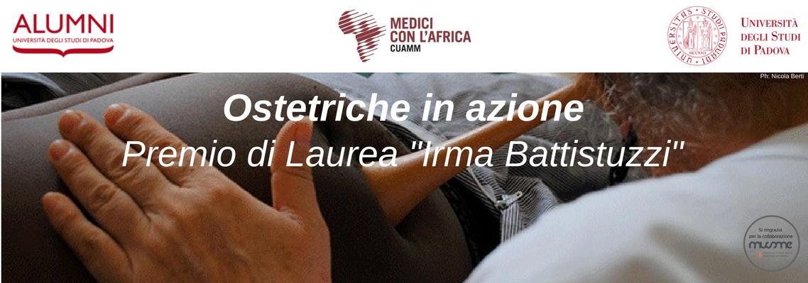 """Ostetriche in azione – """"Premio di Laurea Irma Battistuzzi"""""""