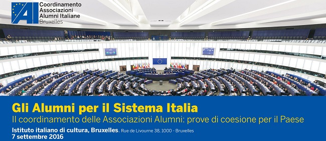 Gli Alumni per il Sistema Italia   Prove di coesione per il Paese