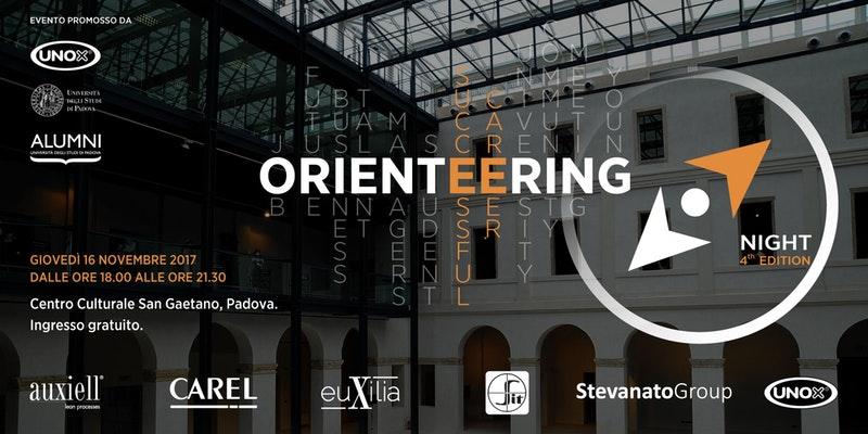 Orienteering Night: l'incontro tra studenti e aziende