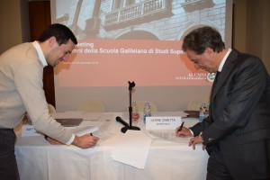 Firma protocollo d'intesa con l'Associazione Alumni della Scuola Galileiana
