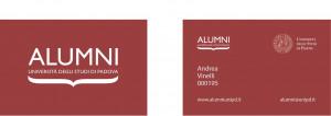Immagine Alumni Card
