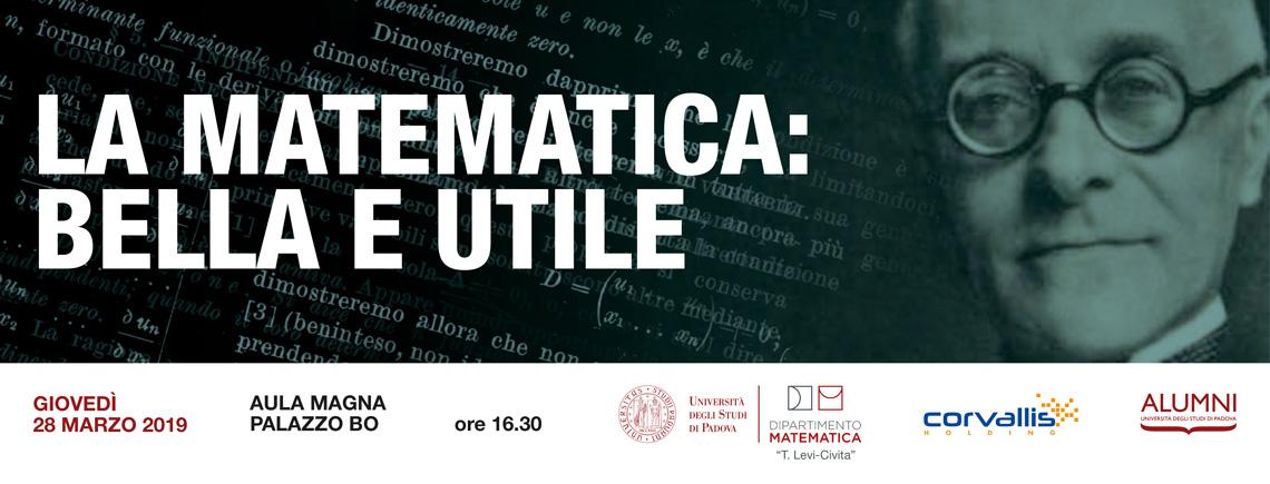 """""""La Matematica: bella e utile"""""""