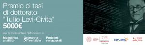 Bando Tullio Levi-Civita 2019