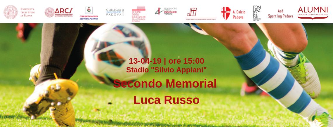 Ingegneri VS Unipd – Secondo Memorial Luca Russo