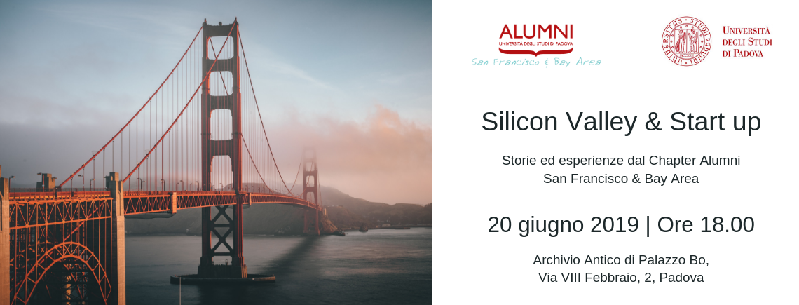 Silicon Valley & Start up: storie ed esperienze dal Chapter Alumni San Francisco & Bay Area