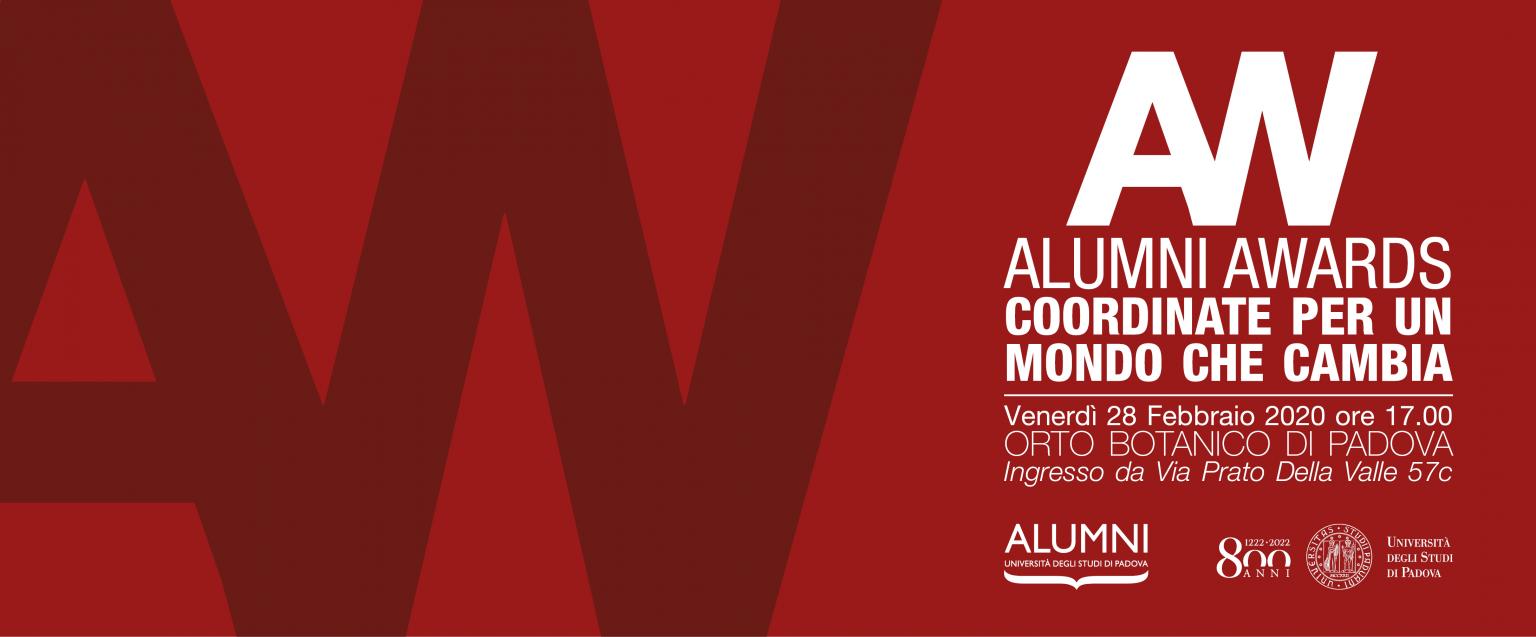 Alumni Awards | Coordinate per un mondo che cambia