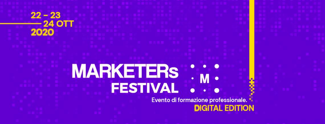 MARKETERs Festival: formazione e networking