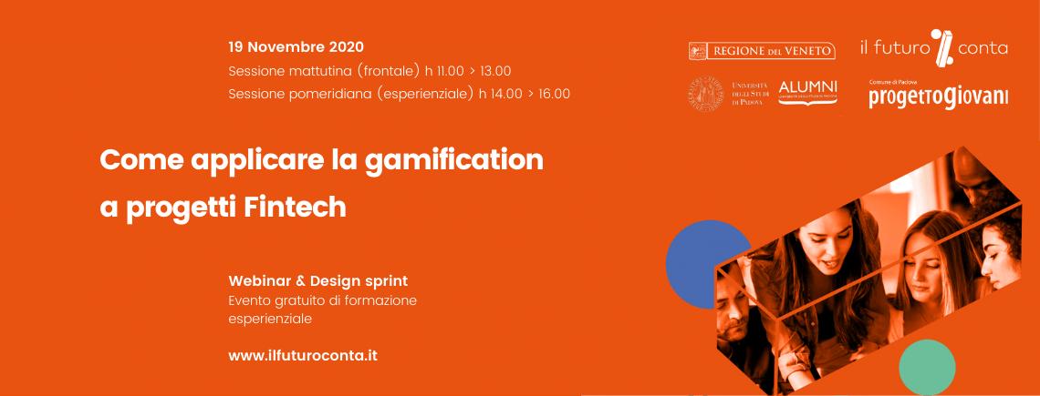 Design sprint: Come applicare la gamification a progetti Fintech