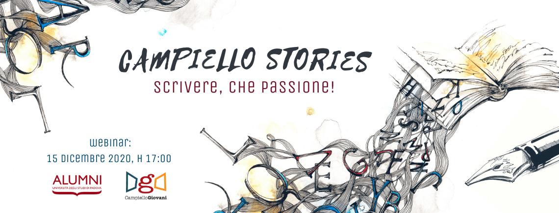 Campiello stories: scrivere, che passione!