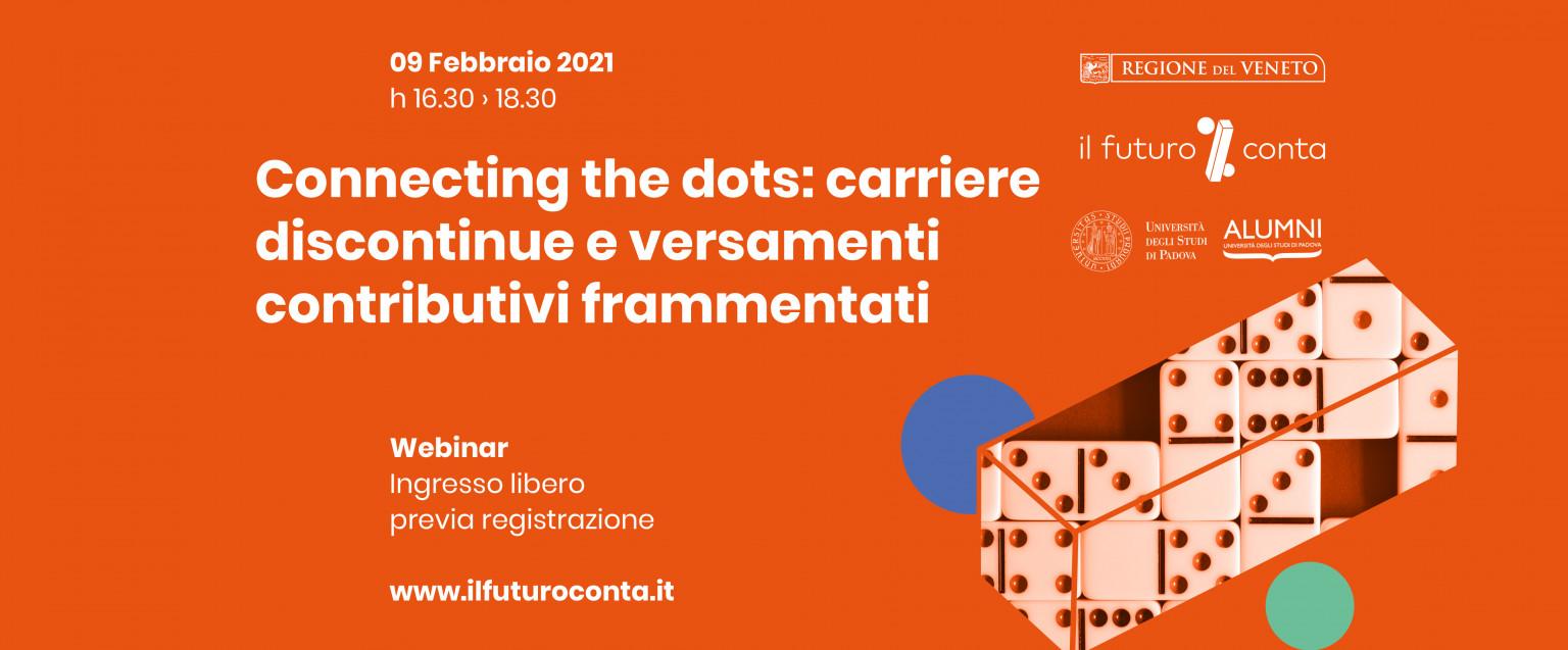 Connecting the dots: carriere discontinue e versamenti contributivi frammentati