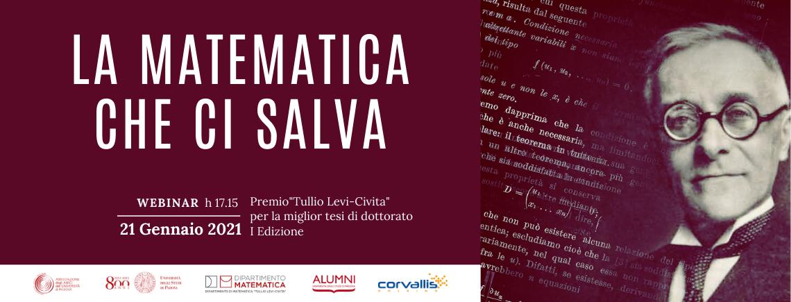"""Webinar: """"La matematica che ci salva"""""""