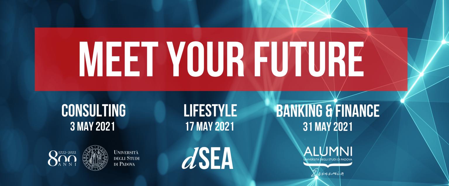 Meet your Future Economia: Banking & Finance | 31 maggio 2021